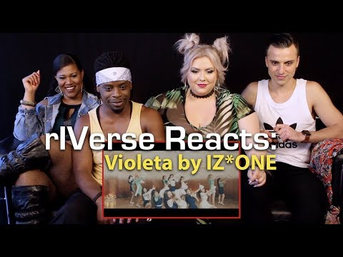 rIVerse Reacts: Violeta by IZ*ONE - MV Reaction