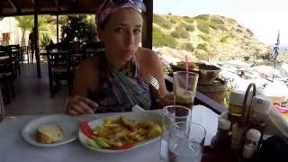 Таверна на пляже Эвита, Бали, Крит / Tavern on The Evita Beach, Bali, Crete 2016(Таверна на пляже Эвита, Бали, Крит. Небольшой обед: большая порция рыбы камбала с картофелем и овощами, больш..., 2016-08-17T12:50:35.000Z)