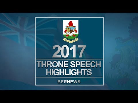Some Of The Throne Speech Initiatives, Sept 8 2017