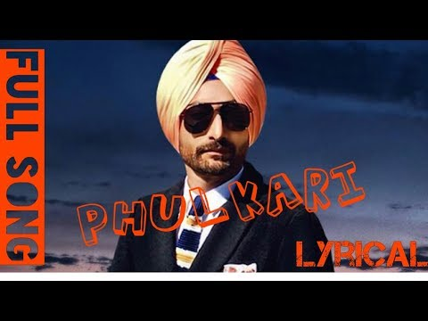 ranjit-bawa-|-phulkari-lyrics|-preet-judge-|-gold-e-gill-|-latest-punjabi-song-2017|r&r-production