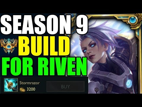 S9 *BEST* RIVEN BUILD GUIDE! - League of Legends