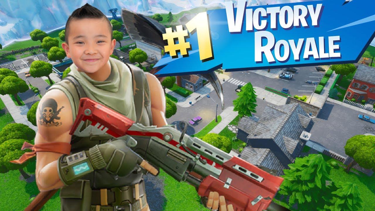 BEST WIN EVER Fortnite Fun Gameplay CKN Gaming