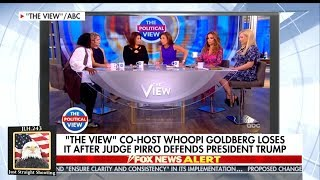 Whoopi Goldberg Viciously Attacks Jeanine Pirro On The View
