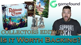 🔴 Robinson Crusoe - Collector's Edition  - Is It Worth Backing? Game found Deep Diveson