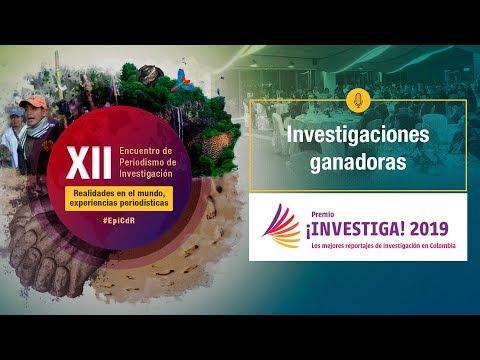 XIIEncuentro2019 - Ganadores premio ¡Investiga 2019!