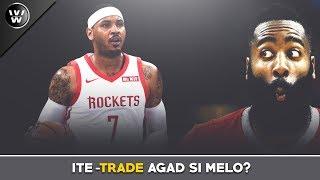 Nako! Nakaka Sampung Laro pa lang | Carmelo Anthony, Bibitawan na ng Rockets?