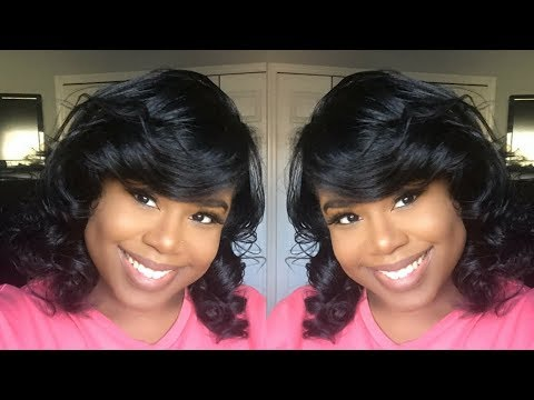 PIN CURLS ON STRAIGHT NATURAL HAIR