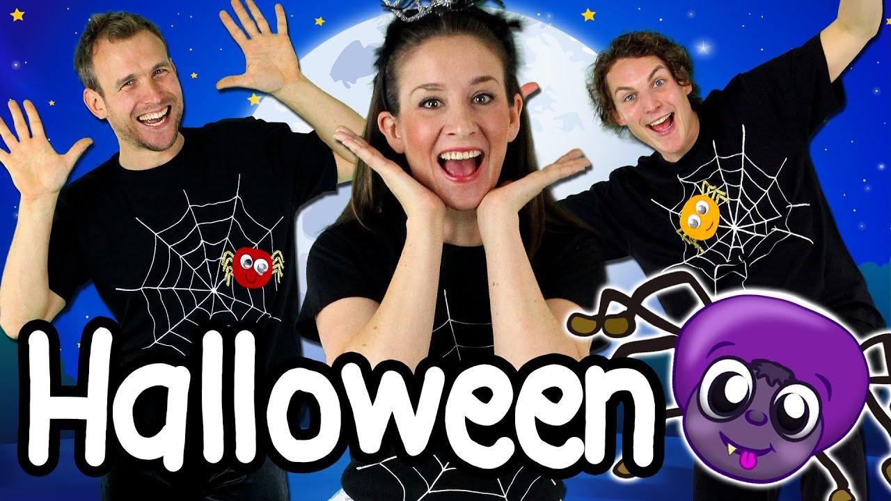 Halloween Stomp - Kids Halloween Song | Halloween Songs for Children