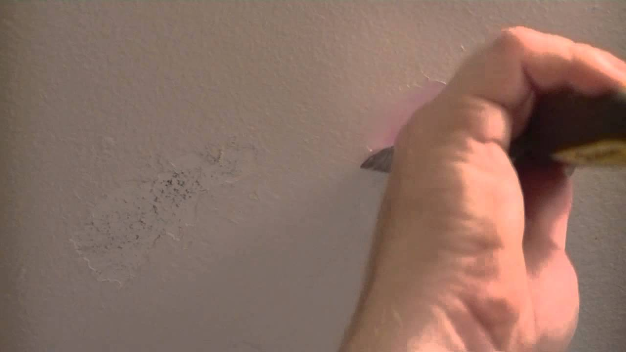 How To Repair A Peeling ( Bathroom ) Ceiling   YouTube