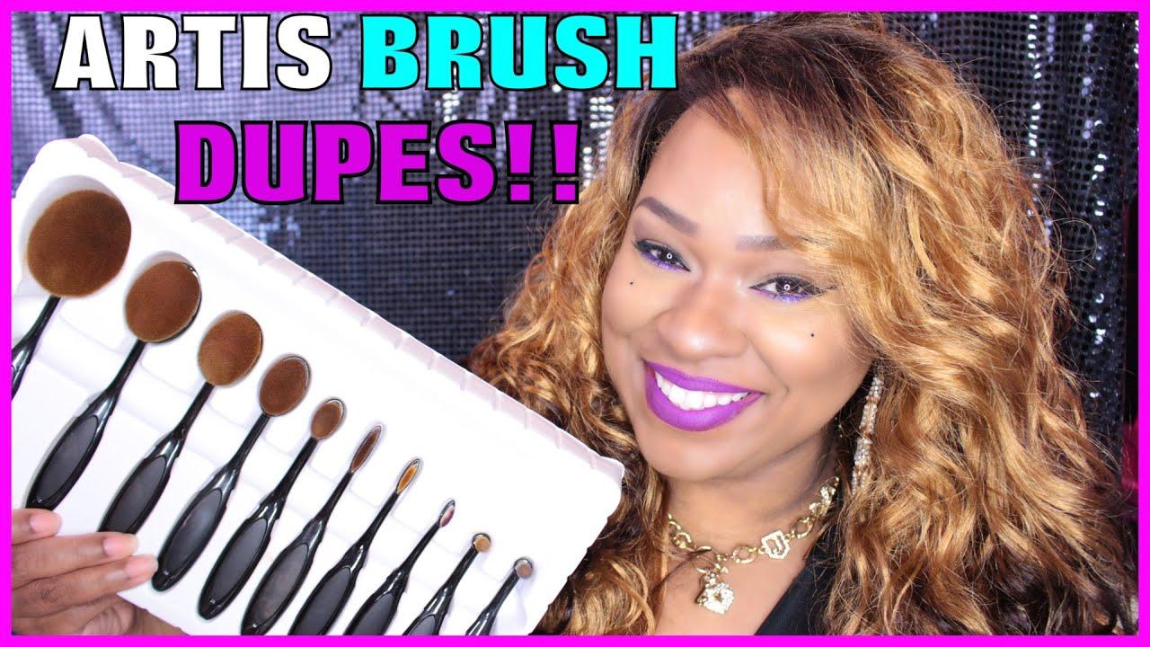 Artis makeup brush dupes aliexpress youtube for Brush craft vs artis