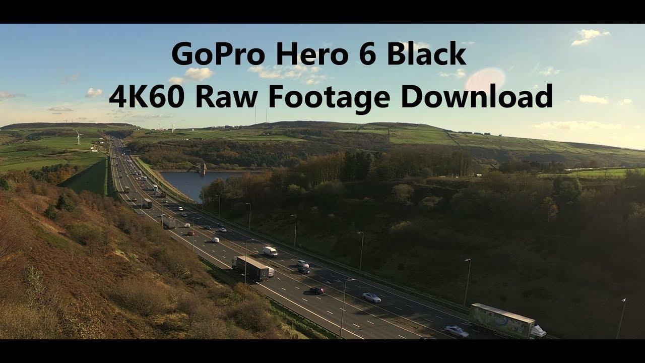 gopro hero 6 black 4k60 test footage raw download link youtube