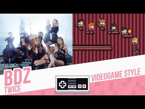 BDZ, TWICE - Videogame Style