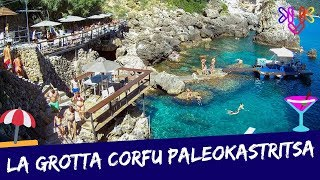 La Grotta Paleokastritsa Corfu | Beach bár Corfu-n