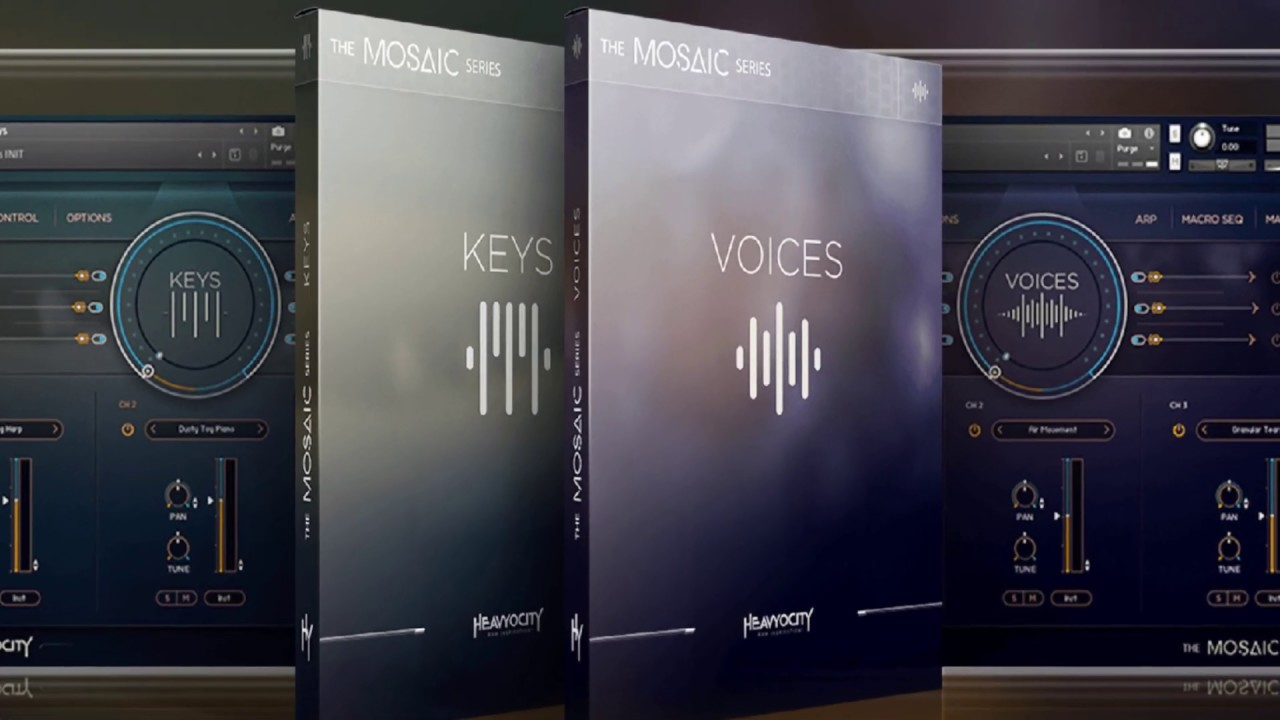 Heavyocity MOSAIC KEYS & VOICES - DEMONSTRATION