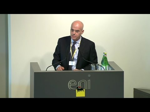 Claudio Descalzi, Chief Executive Eni   Eni Video Channel