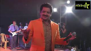 Tere Naam Humne Kiya Hai  Udit Narayan, Alka Yagnik   Live Concert & Live Singing by Udit Narayan
