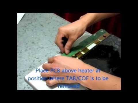 Remove TAB/COF easily