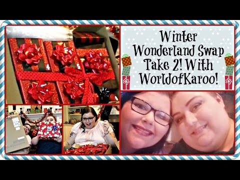 HUGE Winter Wonderland Makeup Swap Take 2 w/WorldofKaroo (IN PERSON)
