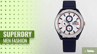 Superdry Men Fashion [Hot New Arrivals 2018]: Superdry Casual Watch SYG244U