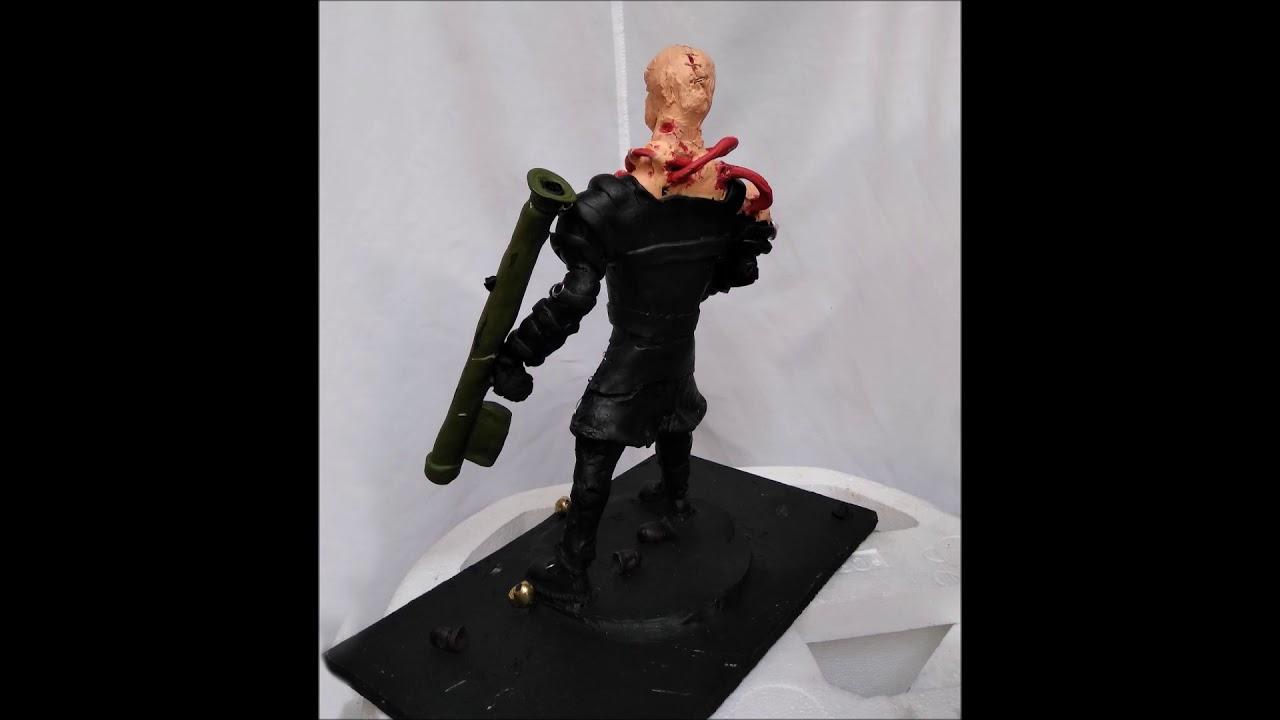 Nemesis Resident Evil Porcelanicron Escultura Muñeco