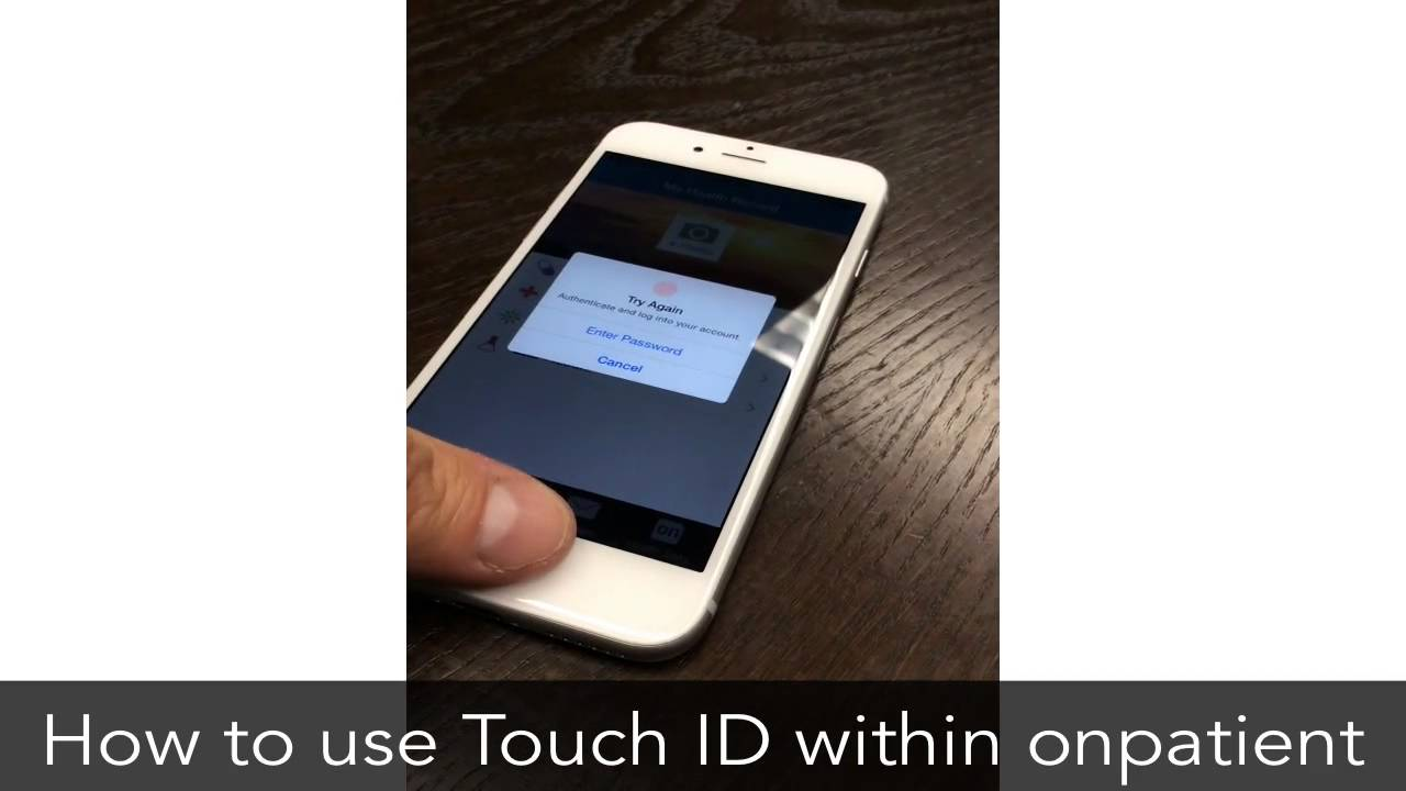 personal health record phr iphone touch id free ipad iphone