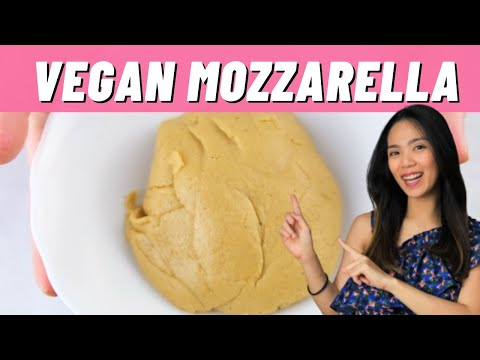Vegan Mozzarella | Vegan Cheese | Pizza Mozzarella | Vegan Recipes