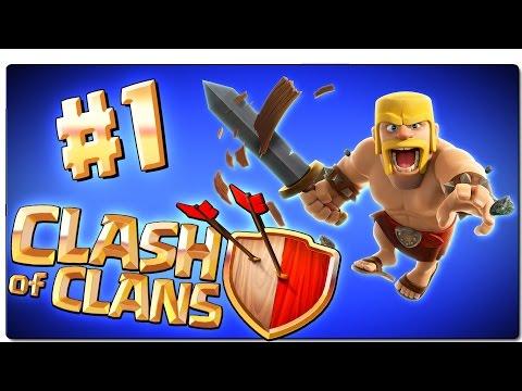 CLASH OF CLANS | Ep 1 | Comenzamos a jugar: Tutorial y ayuntamiento nivel 2 | Android