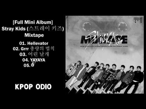 [Full Mini Album] Stray Kids (스트레이 키즈) – Mixtape