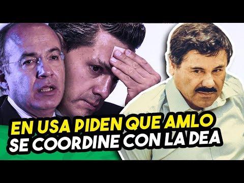 Chapo acusa a Calderon y Peña Nieto, desde USA piden coordinación a Lopez Obrador