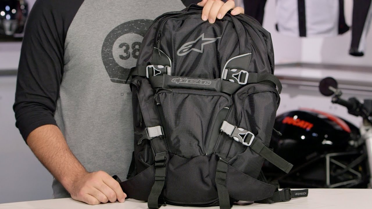5adcd42501 Alpinestars Force Backpack Review at RevZilla.com - YouTube