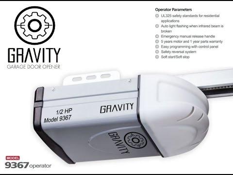 Gravity Garage Door Opener Belt Drive 9367 Operator In