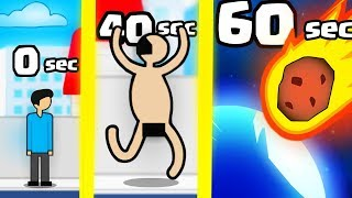 CAN YOU SURVIVE 60 SECONDS? (9999+ METEOR EVOLUTION HIGHEST LEVEL) l Meteor 60 seconds!
