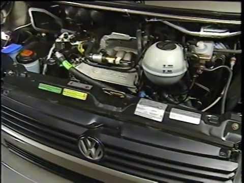 1993 Volkswagen T4 EuroVan In Dealer Training  YouTube