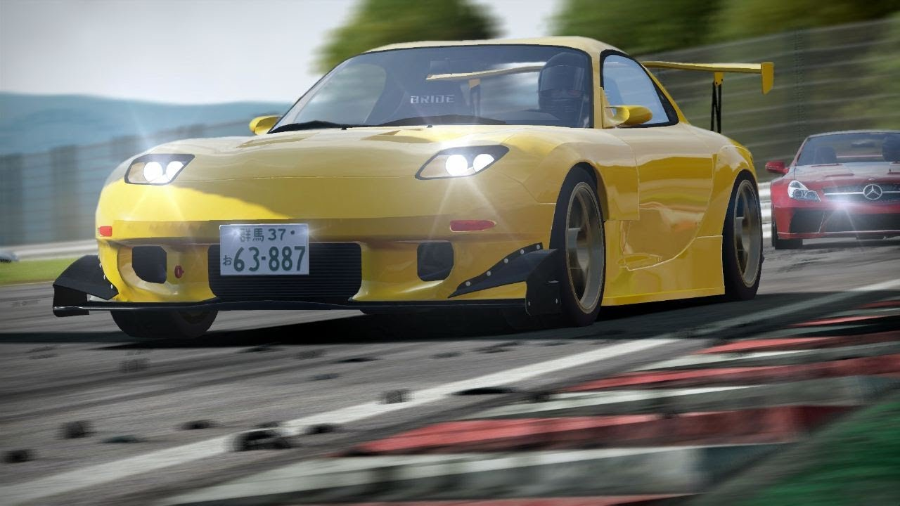 Mazda 2 Gt >> NFS Shift 2 Unleashed: Keisuke Takahashi Project D's Mazda RX-7 FD3S on Suzuka Circuit - YouTube
