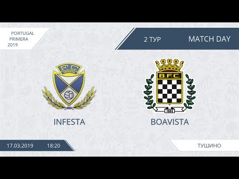 AFL19. Portugal. Primera. Day 2. Infesta - Boavista