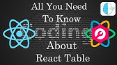 Material UI Table in React - YouTube