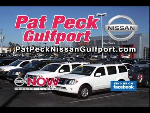 Pat Peck Nissan Gulfport, MS TV Commercial March 2011
