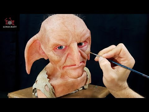 kreacher-sculpture-timelapse---harry-potter
