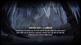 (PS4) TESO: Direfrost Keep (Башня Ужасного Холода)