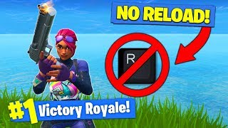 The *NO RELOAD* CHALLENGE In Fortnite Battle Royale!