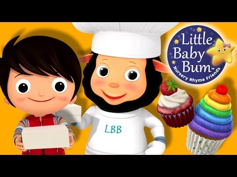 The Muffin Man | Nursery Rhymes | By LittleBabyBum!
