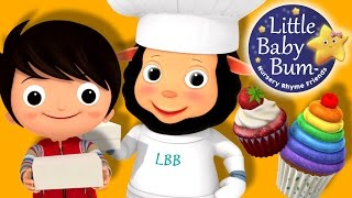 The Muffin Man | Nursery Rhymes | By LittleBabyBum