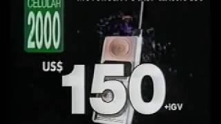 Celular 2000 de Perú comercial de 1995