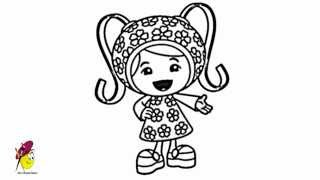Milli - Team Umizoomi - How to draw Milli from Team Umizoomi