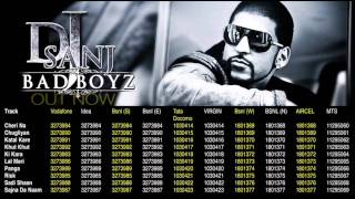 BAD BOYZ MOBILE RINGTONES - DJ SANJ - BRAND NEW PUNJABI ALBUM