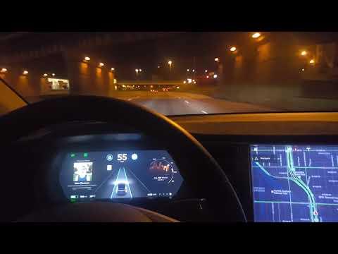 Will Tesla Model X AutoPilot AP2.5 try to kill me? (Part 1)
