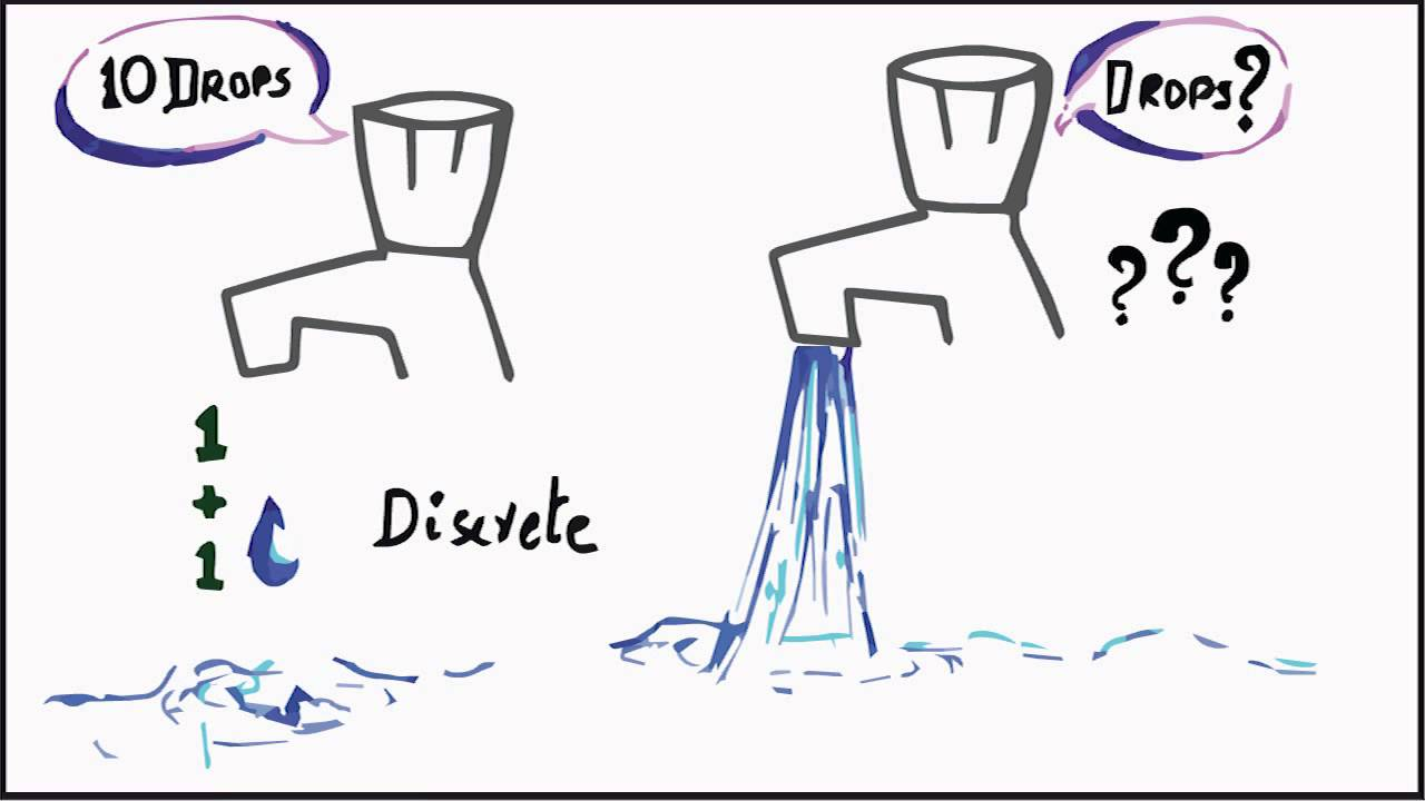 discrete vs continuous why we need calculus idea behind the