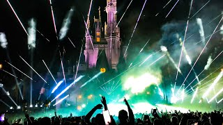 Swedish House Mafia Axwell Playing Walt Disney World Cinderella Castle! OMG! AMAZING!!!