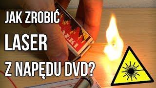 Jak zrobić Laser z Nagrywarki DVD? - ArtekDIY #13