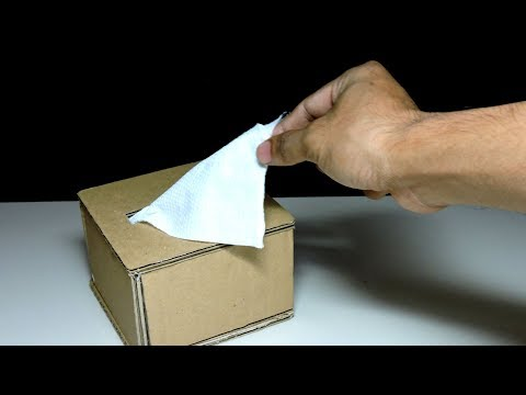 How To Make Your Own Tissue Paper Dispenser | Maison Zizou